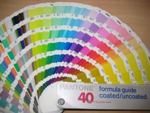 Pantone katalog boja